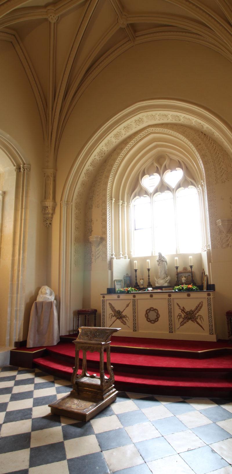 Chapelle du château de Brissac-Quincé