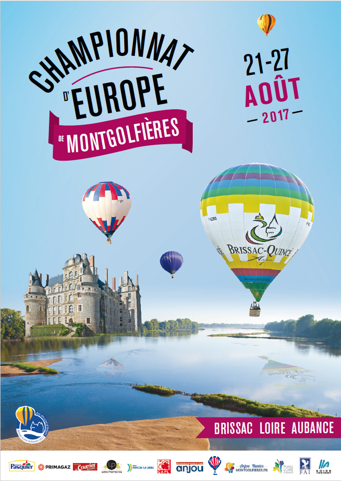 Chanpionnat de montgolfiere Brissac Août 2017
